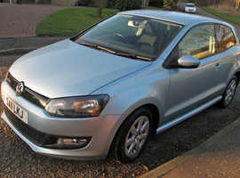 Volkswagen Polo Bluemotion 1.2 TDi, 2011 (11) Blue Hatchback, Manual Diesel, 45,000 miles **ZERO ROAD TAX**