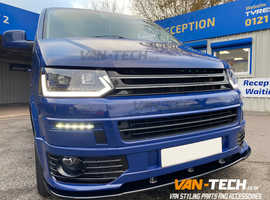VW Transporter T5.1 Light Bar Headlights Dynamic Indicators 2010-2015