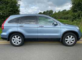 Honda CR-V, 2009 (09) Blue Estate, Manual Diesel, 114,000 miles