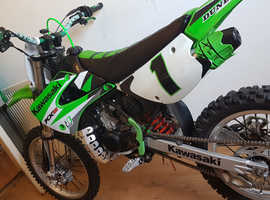 Custom mint fast kx 85cc birt bike (not a yz cr tm rm etc)