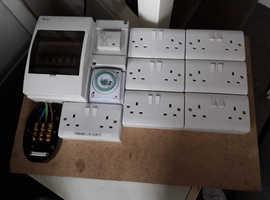 Hydroponics power board