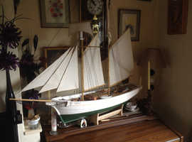 Vega model powered schooner