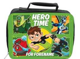 DISNEY BEN 10 HERO TIME INSULATED LUNCH BAG - BLACK