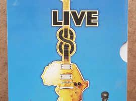 Live 8 July 2nd 2005. 4 DVD box set.