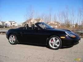 Porsche Boxster, 1999 (T) black convertible, Manual Petrol, 126632 miles