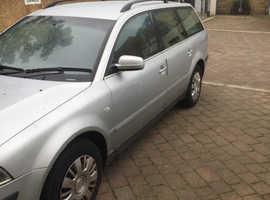 Volkswagen Passat, 2003 (03) Silver Estate, Manual Diesel, 190,000 miles
