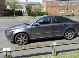 Volvo S40/V50 SERIES, 2005 (05) Grey Saloon, Manual Diesel, 137,386 miles