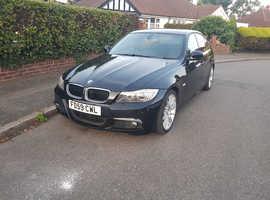 BMW 3 Series, 2009 (59) Black Saloon, Manual Petrol, 63,507 miles