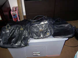 Leather hands bags