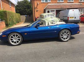 Jaguar Xk8, 1999 (T) Blue Sports, Automatic Petrol, 86,500 miles