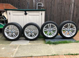 "Bmw allows wheels M400 18"" whit new tires"