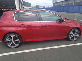 Peugeot 308, 2016 (16) Red Hatchback, Manual Diesel, 22,400 miles