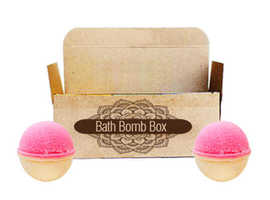 Bath Bomb Packaging Wholesale