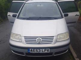 Volkswagen Sharan, 2003 (53) Grey Estate, Manual Diesel, 165,000 miles