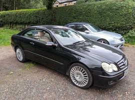 Mercedes Clk, 2006 (56) Black Coupe, Automatic Petrol, 90,504 miles