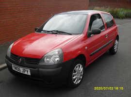 Renault Clio, 2006 (06) Red Hatchback, Manual Petrol, 96,000 miles