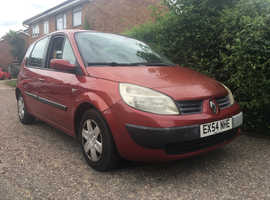 Renault Scenic 1.6  68,000 miles EX-DEMO AND ONE OWNER FROM NEW ,LOW MILES
