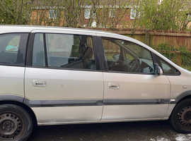 Vauxhall Zafira, 2004 (54) Silver MPV, Manual Diesel, 150,006 miles