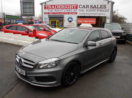 Mercedes A-CLASS, 2014 (14) Grey Hatchback, Manual Diesel, 72,408 miles