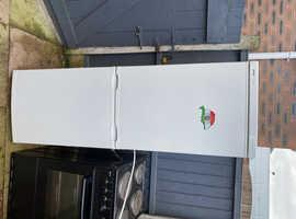 Tall white Bosch fridge freezer