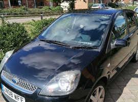 Ford Fiesta, 2008 (08) Black Hatchback, Manual Petrol, 117,429 miles
