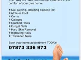 Professional foot care in the comfort of your home