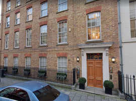 Generously Sized Workstations Immediately Available to Rent in Friendly Mayfair Office