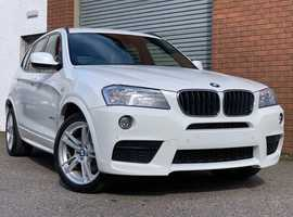 Fabulous BMW X3 2.0 20d X-Drive M Sport Edition, Very Low Miles, Full Dealer Service History, Mint!!