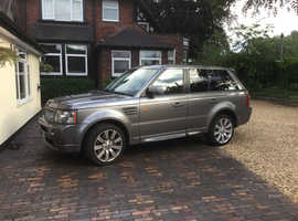 Land Rover Range Rover Sport, 2008 (08) Grey Estate, Automatic Diesel, 67,000 miles