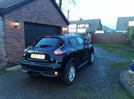 Nissan Juke, 2017 (17) Black Hatchback, Manual Diesel, 7,176 miles