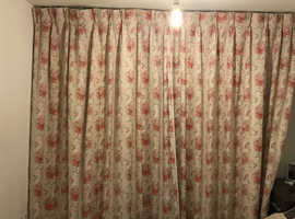 Quality full height curtains With lining