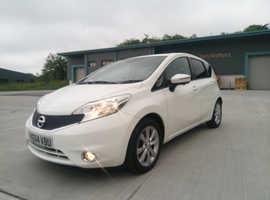 Nissan Note, 2014 (64) White MPV, Manual Diesel, 74,000 miles