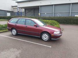Volvo S/V40 SERIES, 1997 (R) Red estate, Manual Petrol, 90000 miles