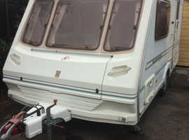 Abbey expression 380 2001 two berth with motor mover