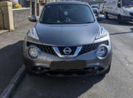 Nissan Juke, 2016 (16) Grey Hatchback, Manual Diesel, 26,747 miles