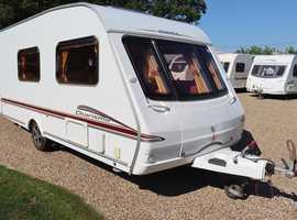 Swift Charisma 560 2006 4 Berth Caravan + Motor Mover + Porch Awning + T.V + Winter Cover