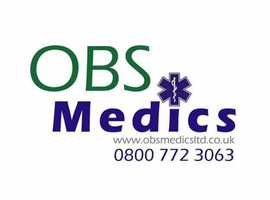 2021 OBS Patients transported and event medical cover