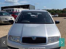 Skoda Fabia, 2005 (55) Silver Hatchback, Manual Petrol, 60,000 miles