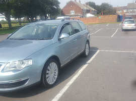 Volkswagen Passat, 2009 (58) Blue Estate, Manual Diesel, 142,000 miles