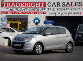 2014/64 Citroen C1 1.0 Feel finished in Moonlight Silver Metallic.52,113 miles