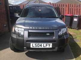 Land Rover Freelander, 2004 (04), Automatic Diesel, 86,000 miles