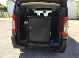Peugeot Expert 5 seats plus wheelchair or scooter.60 reg.12 months mot.