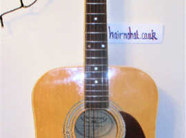 Burswood Acoustic Guitar   Model JW-41F.  Very Good Condition. New Strings etc