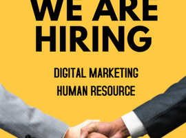 JOBS FOR HR AND DIGITAL MARKETING