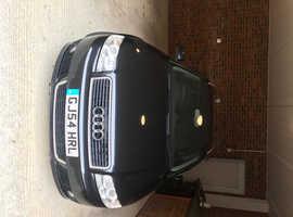 Audi A4, 2004 (54) Black Estate, Cvt Diesel, 162,000 miles
