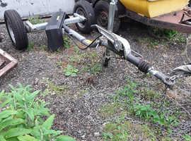 Unused bpw 1500kg braked trailer chassis ideal generator etc