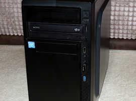 Intel Dual-Core G3930 Desktop PC Computer with SSD