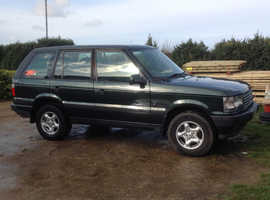 Land Rover Range Rover, 2001 (Y) Green Estate, Automatic Petrol, 158,000 miles