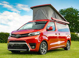 TOYOTA PROACE MATINO 2 DESIGN  which is available to order now choice of colours and choice of conversion colours.