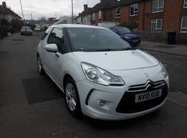 Citroen Ds3, 2010 (10) White Hatchback, Manual Petrol, 71,646 miles